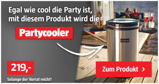 Partycooler: Must-have für jede Party