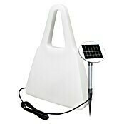 8 Seasons Design Shining LED-Solar-Dekoleuchte Bag (Weiß, L x B x H: 19 x 55 x 75 cm)
