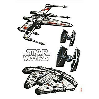 Komar Star Wars Wandtattoo (Spaceship, 70 x 100 cm)(Spaceship, 70 x 100 cm)