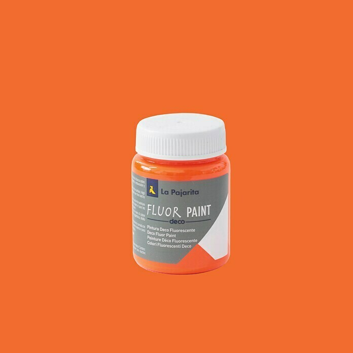 La Pajarita Pintura Fluor Paint Orange (75 ml)
