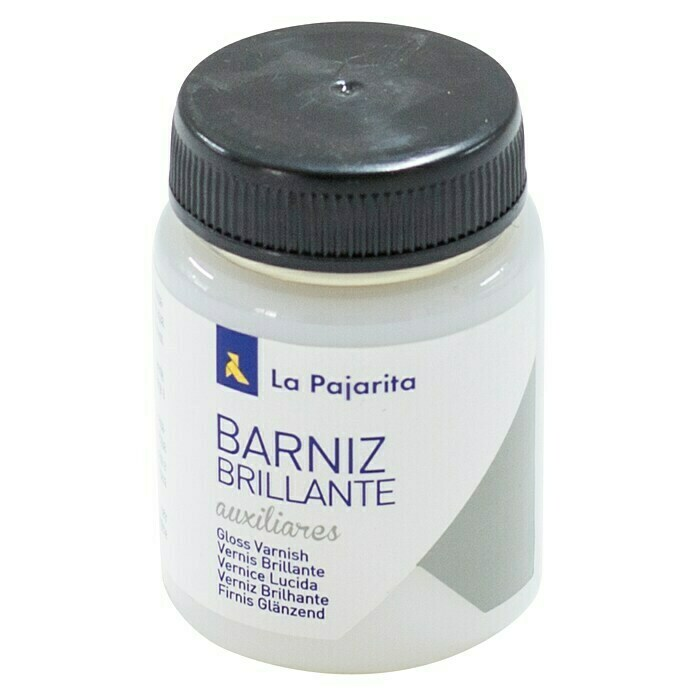 La Pajarita Barniz Final brillante (Incoloro, 75 ml, Brillante)