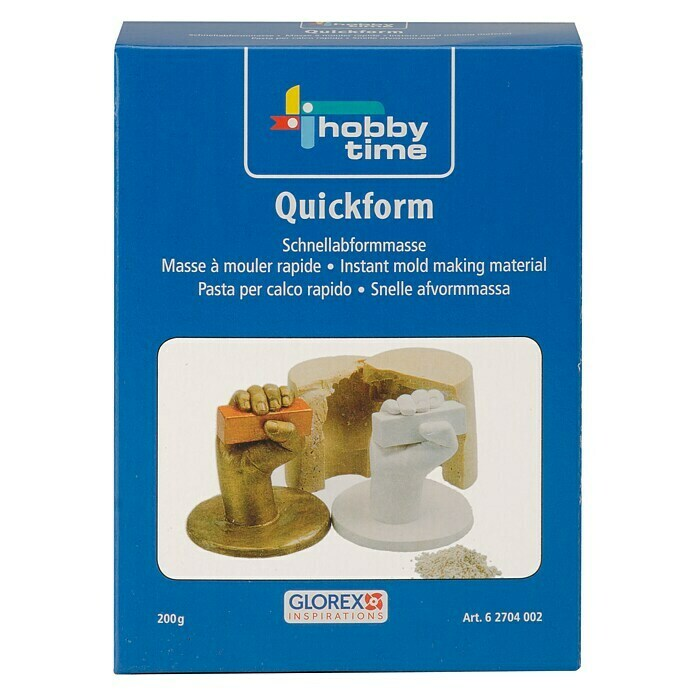 Glorex Hobby Time Schnellabformmasse Quickform (500 g)