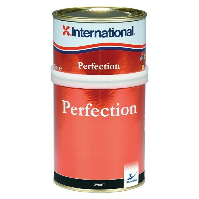 International Bootslack Perfection (Rot, 750 ml, Farbton: A294, Hochglänzend)