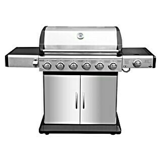 Gasgrill Deluxe (Anzahl Brenner: 7, Hauptgrillfläche: 80 x 41 cm, 21,1 kW)(Anzahl Brenner: 7, Hauptgrillfläche: 80 x 41 cm, 21,1 kW)
