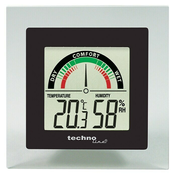 Thermo-Hygrometer (Digital, Breite: 88 mm) -