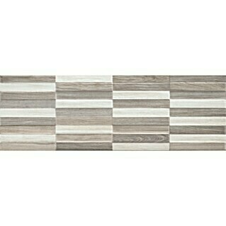 Revestimiento cerámico Jungle Wall Decor (20 x 60 cm, Marrón/Gris/Blanco, Mate, Estilo madera)(20 x 60 cm, Marrón/Gris/Blanco, Mate, Estilo madera)