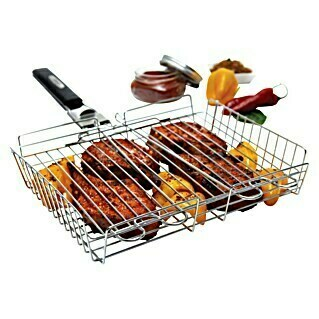 Broil King Cesta para barbacoa (Acero inoxidable, 25 x 30 cm)(Acero inoxidable, 25 x 30 cm)