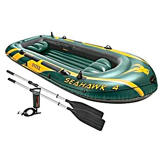 Intex Bote hinchable Seahawk 400 (3,51 x 1,45 m)(3,51 x 1,45 m)