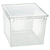 Terry Light Box Caja con tapa (37,6 x 52 x 31 cm, Capacidad: 50 l)
