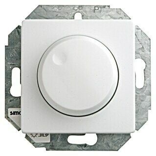 Simon 27 Regulador luminoso (Blanco, Aluminio, En pared)(Blanco, Aluminio, En pared)