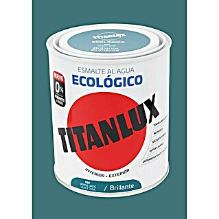 Titanlux Esmalte de color Eco Verde jade (750 ml, Brillante)(750 ml, Brillante)