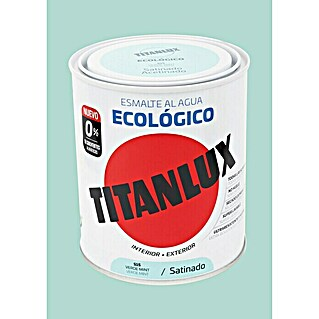 Titanlux Esmalte de color Eco Verde mint (750 ml, Satinado)(750 ml, Satinado)