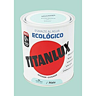 Titanlux Esmalte de color Eco Verde mint (750 ml, Mate)(750 ml, Mate)
