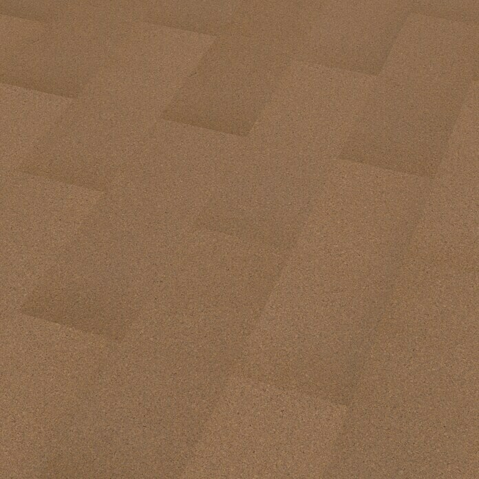 Korkboden Mud Taupe (905 x 295 x 10,5 mm, All over) -