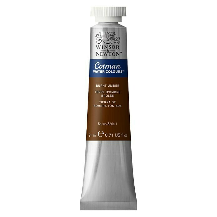Winsor & Newton Cotman Aquarellfarbe (Umbra gebrannt, 21 ml, Tube)