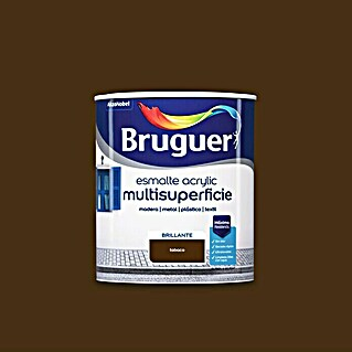 Bruguer Esmalte de color Acrylic multisuperficie (Tabaco, 750 ml, Brillante)(Tabaco, 750 ml, Brillante)