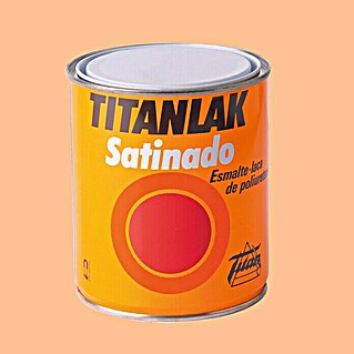 Titan Titanlak Esmalte de poliuretano (Peach, 750 ml, Satinado)(Peach, 750 ml, Satinado)