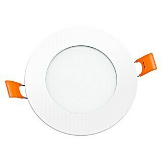 Alverlamp Downlight LED empotrable DLP (2 x 6 W, Color de luz: Blanco neutro, L x An: 12 x 12 cm, Blanco)(2 x 6 W, Color de luz: Blanco neutro, L x An: 12 x 12 cm, Blanco)
