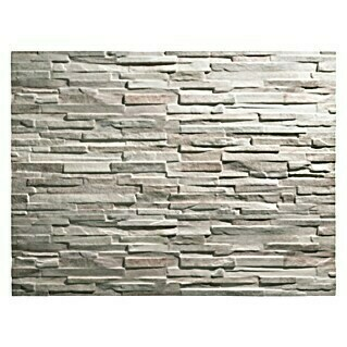 Revestimiento de pared decorativo Ultra light colorado (120 cm x 25 mm, Marrón, Estructurado)(120 cm x 25 mm, Marrón, Estructurado)