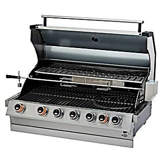 Kingstone KMS Gasgrill Cliff 605-II Built In (Anzahl Brenner: 6, Hauptgrillfläche: 79 x 45 cm)(Anzahl Brenner: 6, Hauptgrillfläche: 79 x 45 cm)
