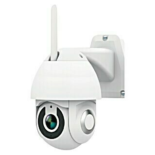 Garza Cámara IP de exterior inteligente Smart Wifi (Blanco, Funcionamiento en red, 1.080 píxeles (Full HD), IP65)(Blanco, Funcionamiento en red, 1.080 píxeles (Full HD), IP65)