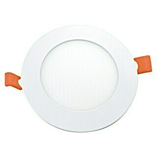 Alverlamp Downlight LED empotrable redondo Blanco (4 W, Color de luz: Blanco cálido, Ø x Al: 10,6 x 2 cm, No regulable)(4 W, Color de luz: Blanco cálido, Ø x Al: 10,6 x 2 cm, No regulable)