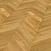 HKS Krügers Fertigparkett Eiche Chevron Honey (600 x 100 x 16 mm, Landhausdiele)
