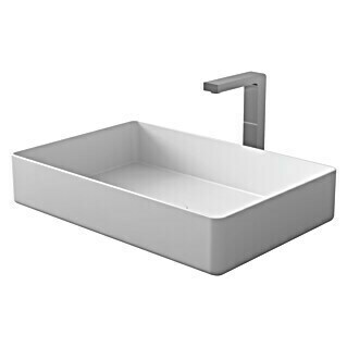 Camargue Lavabo Molí (An x L: 58 x 38 cm, Solid Surface, Blanco)(An x L: 58 x 38 cm, Solid Surface, Blanco)