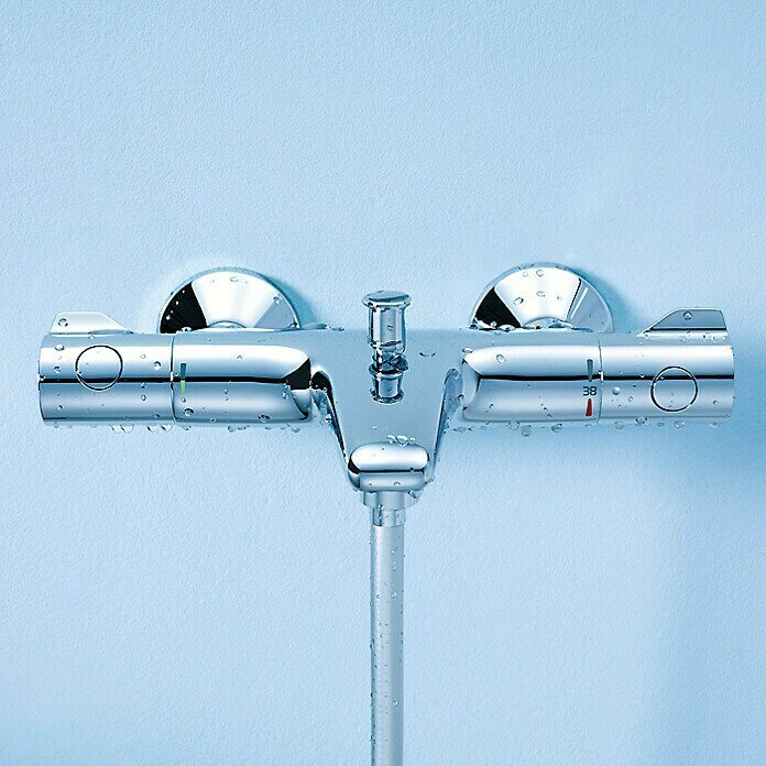 Grohe Grohtherm 800 Badthermostaat (Chroom, Glanzend)