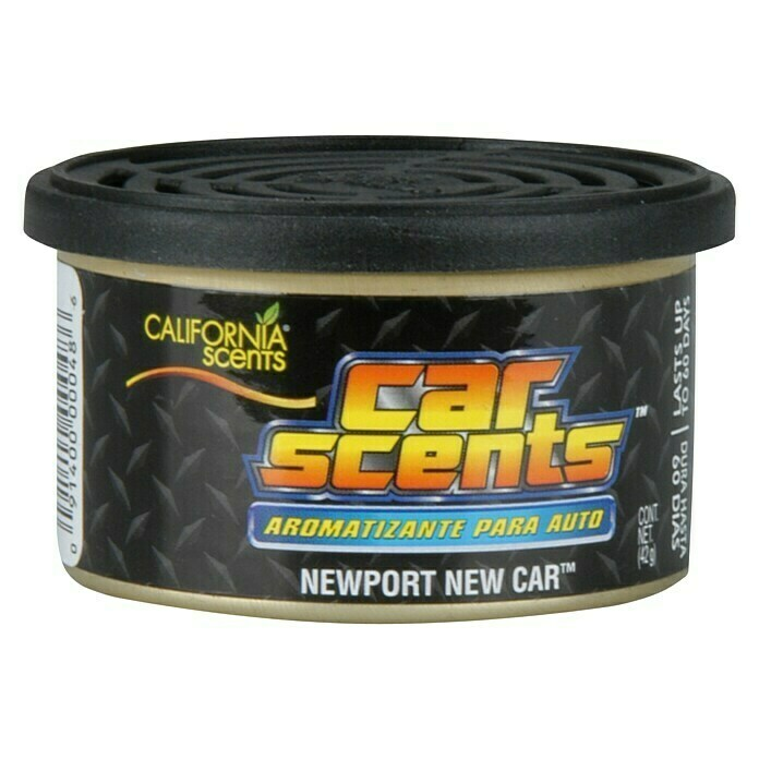 California Scents Lufterfrischer Car Scents (Newport New Car, Wirkungsdauer: Ca. 60 Tage)