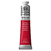 Winsor & Newton Winton Ölfarbe (Permanent Alizarinkarmesin, 200 ml, Tube)
