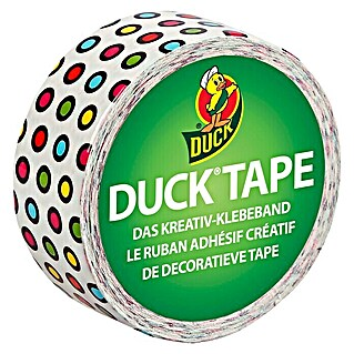 Duck Tape Kreativklebeband (Candy Dots, 4,5 m x 19 mm)(Candy Dots, 4,5 m x 19 mm)