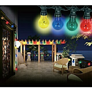 Globo LED-Party-Lichterkette Nirvana (10-flammig, 10 x 4,2 W, Länge: 450 cm)(10-flammig, 10 x 4,2 W, Länge: 450 cm)