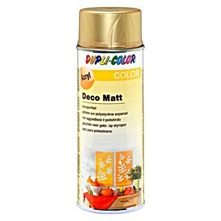 Dupli-Color Color Acryl-Lackspray Deco Matt (Gold, 400 ml, Matt)(Gold, 400 ml, Matt)