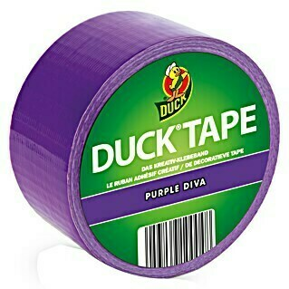 Duck Tape Kreativklebeband (Purple Diva, 9,1 m x 48 mm)(Purple Diva, 9,1 m x 48 mm)