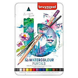 Talens Bruynzeel Set lápices de colores Watercolour (12 uds., Grosor de trazo: 2,9 mm)(12 uds., Grosor de trazo: 2,9 mm)