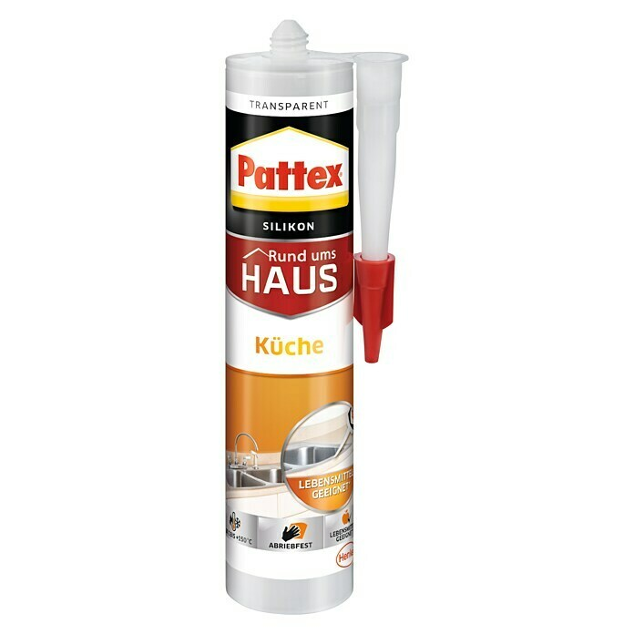 Pattex Küchen-Silikon (Transparent, 300 ml)