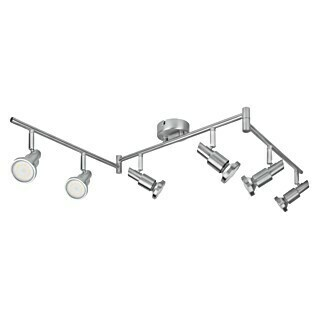 Ledvance LED-Deckenstrahler (6 x 3 W, Länge: 1.190 mm, Warmweiß, Nickel matt)(6 x 3 W, Länge: 1.190 mm, Warmweiß, Nickel matt)