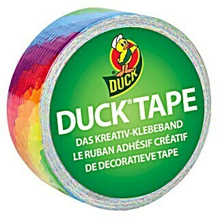 Duck Tape Kreativklebeband (Bright Rainbow, 4,5 m x 19 mm)(Bright Rainbow, 4,5 m x 19 mm)