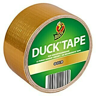 Duck Tape Kreativklebeband (Gold, 9,1 m x 48 mm)(Gold, 9,1 m x 48 mm)