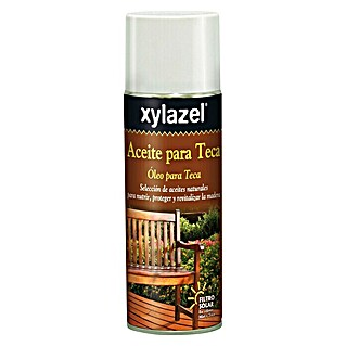 Xylazel Aceite para teca Spray (400 ml, Teca)(400 ml, Teca)