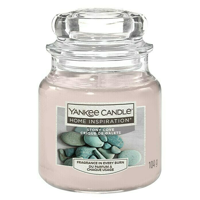 Yankee Candle Home Inspirations Duftkerze (Im Glas, Stony Cove, Small)