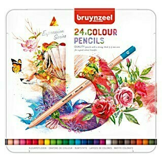 Talens Bruynzeel Set lápices de colores Expression series (24 uds.)(24 uds.)