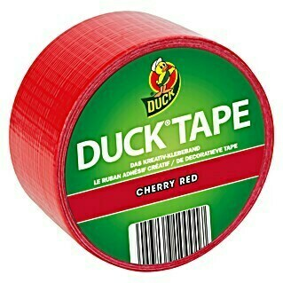 Duck Tape Kreativklebeband (Cherry Red, 9,1 m x 48 mm)(Cherry Red, 9,1 m x 48 mm)