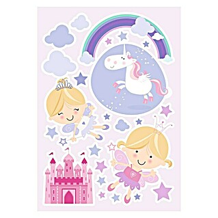 Adhesivos decorativos Happy Faries (Fairies, Violeta)(Fairies, Violeta)