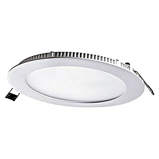 Alverlamp Downlight LED empotrable Pack x 2 (20 W, Blanco frío, 22,5 x 22,5 cm, Blanco tráfico)(20 W, Blanco frío, 22,5 x 22,5 cm, Blanco tráfico)