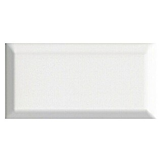 Revestimiento de pared Metro Tile (10 x 20 cm, Blanco, Brillante)(10 x 20 cm, Blanco, Brillante)