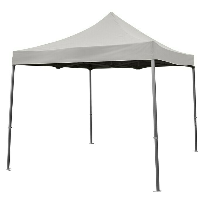 Faltpavillon Easy Up (3 x 3 x 3,4 m, Grau) -