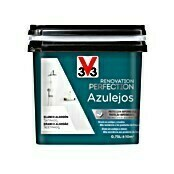 V33 Esmalte para azulejos Renovation Perfection (Blanco algodón, 750 ml, Satinado)