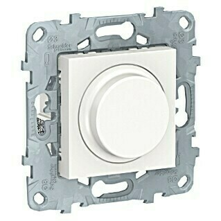Schneider Electric New Unica Regulador luminoso (Blanco polar, Plástico, Montaje en la pared)(Blanco polar, Plástico, Montaje en la pared)